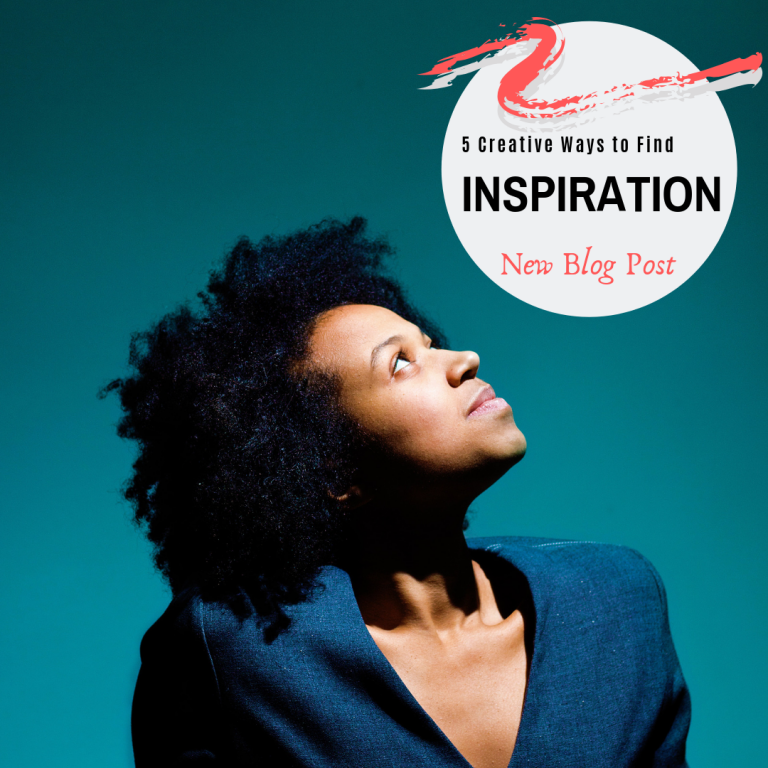 Five Creative Ways to Find Inspiration Blog Post